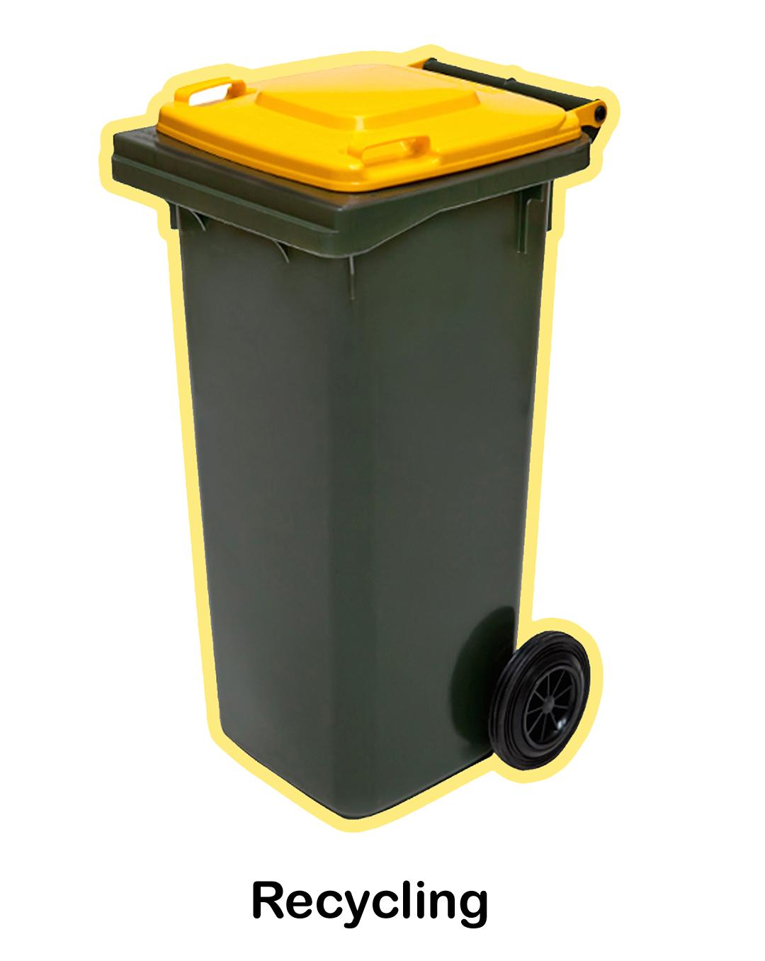 Yellow Bin