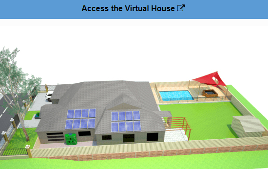 Virtual House Icon