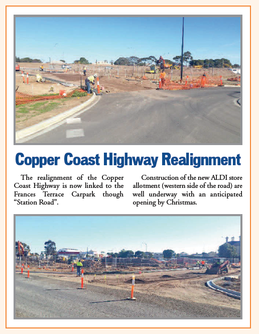 Copper Coast Highway Realignment - Copper Post Newsletter 2018