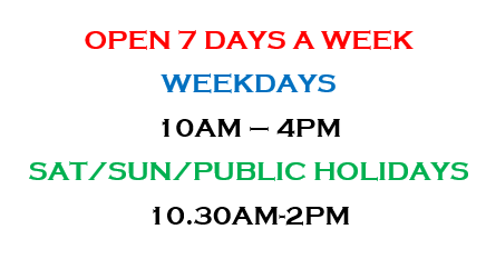 Play Centre Opening Hours