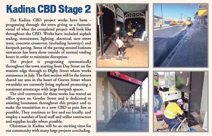 Kadina CBD Update - July 2018 Newsletter