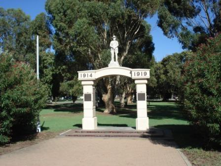 KWT Memorial Arch